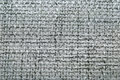 Natural grey burlap texture background close up Stock Images