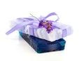 Natural herbal lavender soap