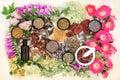 Natural Herbal Medicine Royalty Free Stock Photo