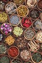 Natural Herbal Medicine Selection Royalty Free Stock Photo