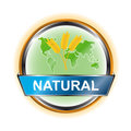 Natural icon Stock Photography