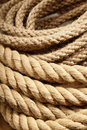 Natural jute rope Royalty Free Stock Image