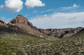 Natural landmark, Boundary Cone in Arizona Royalty Free Stock Photo