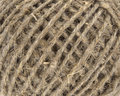 Natural linen thread Royalty Free Stock Photo