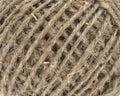 Natural linen thread Royalty Free Stock Photo
