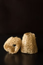 Natural Loofah Sponge For Spa Royalty Free Stock Photo