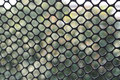 Natural mosaic background net through the net created this beautiful Royalty Free Stock Image