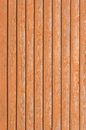 Natural old wood fence planks wooden close board texture, overlapping light reddish brown closeboard terracotta background pattern Royalty Free Stock Photo