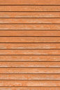 Natural old wood fence wall planks, wooden close board texture, vertical overlapping reddish brown closeboard terracotta rustic Royalty Free Stock Photo