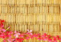 Natural patterns woven rattan with Royalty Free Stock Photo