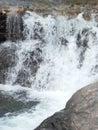 natural river waterfall stones Royalty Free Stock Photo