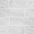 Natural sand stone tile wall seamless background and texture white Stock Photos