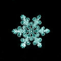 Natural snowflake macro naturals crystal little piece of ice Royalty Free Stock Image