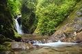 Natural Spring Waterfall Royalty Free Stock Photo