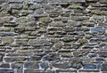 Natural stone texture of a wall built with dimension Royalty Free Stock Photos
