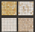 Natural stone tiles Stock Photography