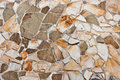 Natural stone wall Stock Image