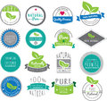 Natural themed logos based on health