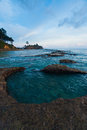 Natural Tide Pool Landscape Turquoise Water Stock Photography