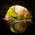 Natural Tunnel In Rakov Skocja...