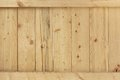 Natural Unpainted Wood Panel With Squared Balk Background Royalty Free Stock Photo