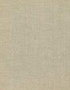 Natural vintage linen burlap textured fabric texture, large detailed vertical old grunge rustic background pattern, tan, beige