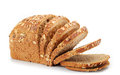 Natural whole grain bread Stock Images