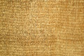 Natural wicker mat background textured Royalty Free Stock Images