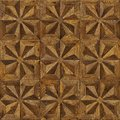 Natural wooden background eight-pointed star, grunge parquet flooring design seamless texture for 3d interior
