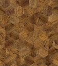 Natural wooden background honeycomb, grunge parquet flooring design seamless texture Royalty Free Stock Photo