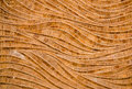Nature background of brown handicraft weave texture bamboo surfa Royalty Free Stock Photo