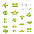 Nature de logo Photo stock
