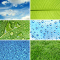 Nature eco backgrounds Royalty Free Stock Photo