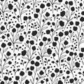 Nature Flower Pattern Background
