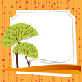Nature frame vector Stock Photo