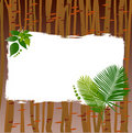 Nature frame vector Royalty Free Stock Photography