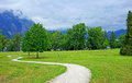 Nature path Royalty Free Stock Photo