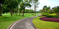Nature path with resort Royalty Free Stock Photo