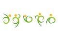 Nature People Wellness Logo,fi...