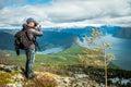 Nature photographer Royalty Free Stock Photo