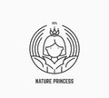 Nature princess logo