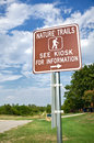 Nature Trail Sign