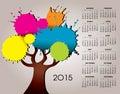 A 2015 Nature And Tree Calendar
