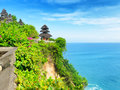 Nature uluwatu temple bali island indonesia Stock Photo