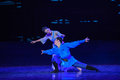 """The naughty boy dance drama """"the dream of maritime silk road"""" centers on plot two generations a sailor family in southern Royalty Free Stock Photos"""