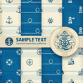 Nautical background set