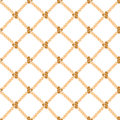 Nautical Rope Background Pattern. Vector