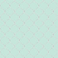Nautical rope seamless fishnet pattern on light blue background Royalty Free Stock Photo