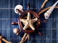 Nautical still life. Royalty Free Stock Photo