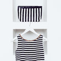 Nautical style fashion. Women's clothing